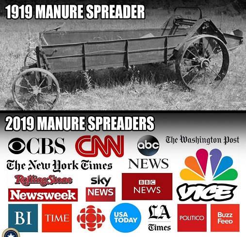 1919 vs 2019 manure spreaders cann msnbc nyt post abc vice newsweek