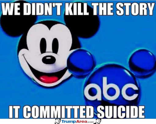 abc we didnt kill the epstein story it committed suicide
