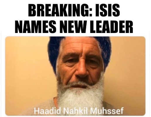 breaking new isis leader epstein didnt kill himself
