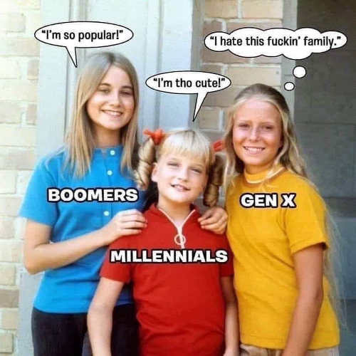 marsha jan cindy boomers millenials gen x hate this family