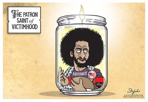 patron saint of victimhood colin kaepernick