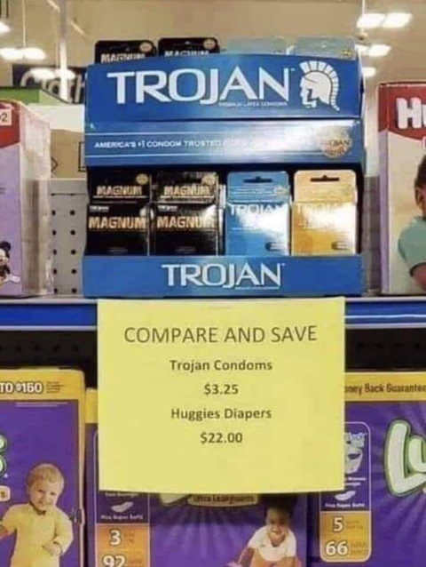 trojan huggies diapers cost compare and save