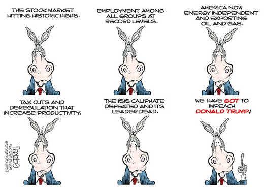 trump democrats isis economy employment must impeach