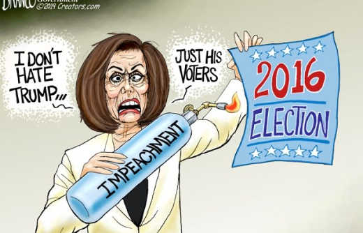 nancy pelosi i dont hate trump just his voters 2016 election torch