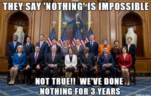 they say nothing is impossible not true democrats trumps first 3 years