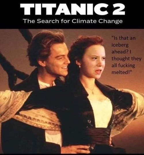 titanic 2 search for climate change leonardo dicaprio greta thunberg