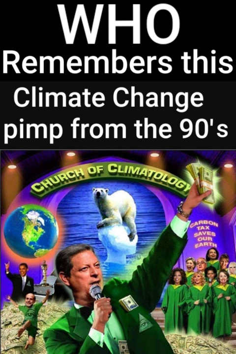 who remembers climate change pimp from the 90s al gore
