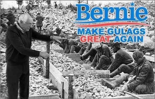 bernie sanders make gulags great again