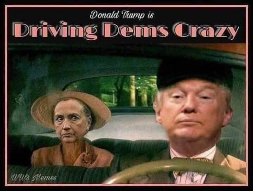 donald trump is driving democrats crazy hillary daisy