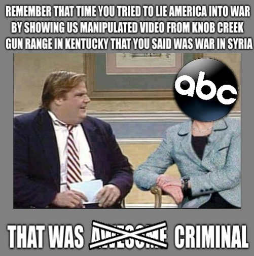 farley remember abc tried to lie america into war showing manipulated video kentucky gun range syria