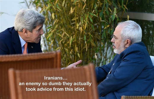 iran an enemy so dumb took advice from john kerry