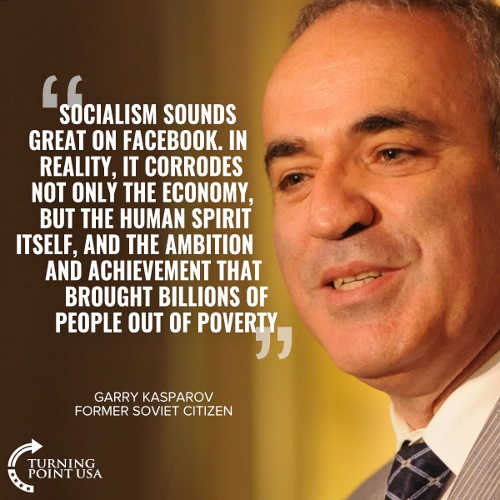 quote kasparov soviet citizen socialism sounds great on facebook corrodes economy human spirit