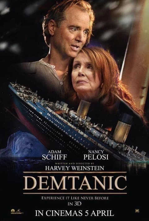 adam shiff pelosi demtanic experience it like never before harvey weinstein