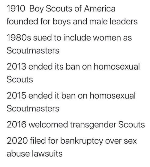 boy scouts of america bankruptcy history