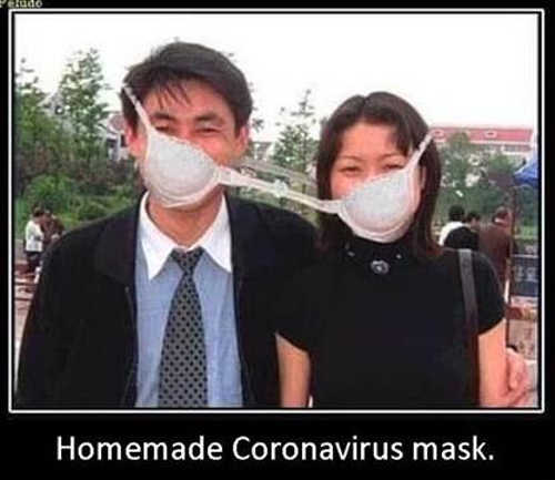 homemade coronavirus mask bra china