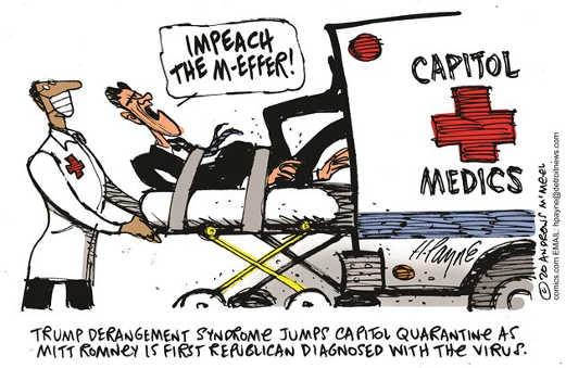 mitt romney impeachmen m effer capitol medics trump derangement sybdrome tds