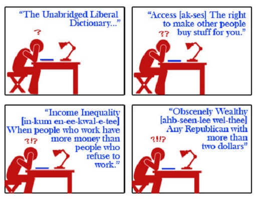 unabridged liberal dictionary income inequality