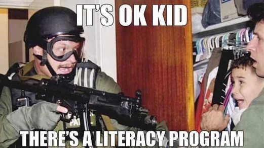 elian gonzalez its ok kid theres a literacy program