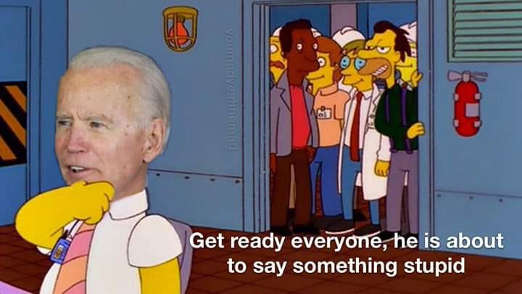 joe biden simpsons get ready everyone hes going to say something stupid