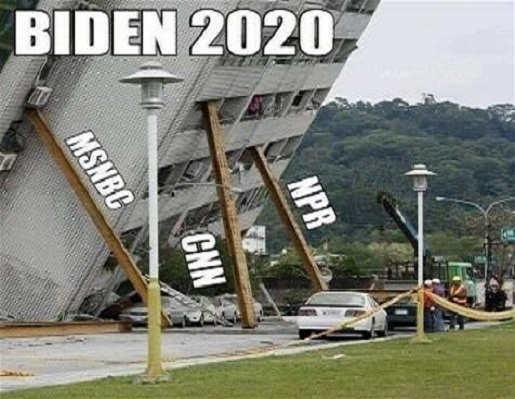 npr msnbc cnn holding up building joe biden