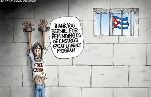 prisoner thank you bernie of reminding us of castro literacy program