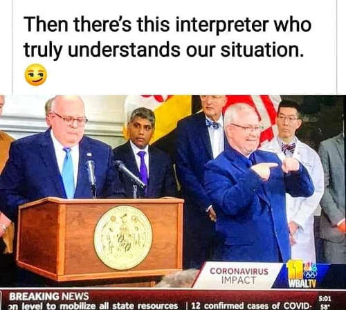 then interpreter truly understands our situation were screwed