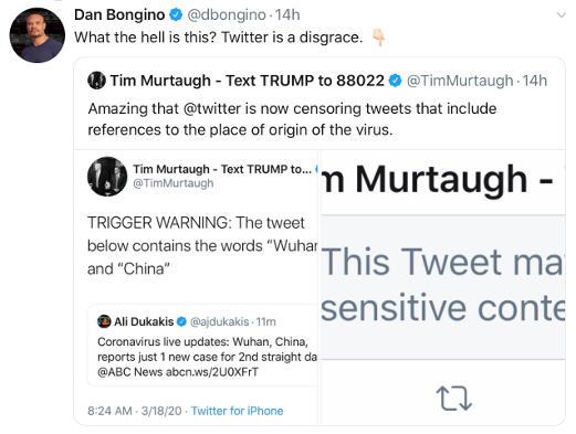 tweet dan borgino twitter censoring chinese wuhan virus