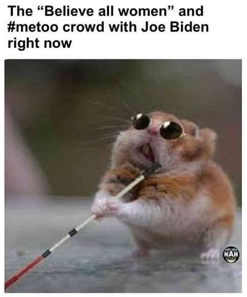 blind mouse the metoo believe all women crowd with joe biden