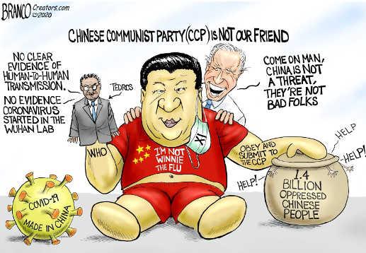 chinese communists puppet who biden