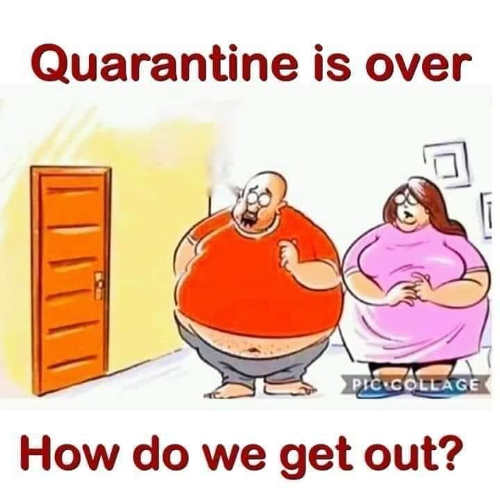 fat quarantine is over how do we get out