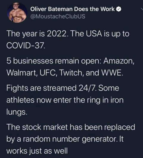 tweet year is 2022 usa is up to covid 37 5 businesses open stock market replaced with random number generator