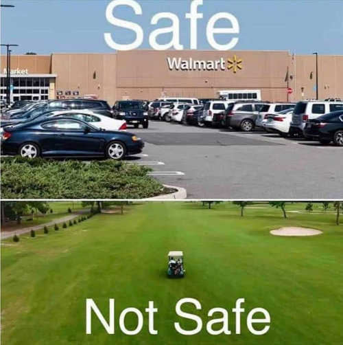 wal mart save golf course not save covid 19 coronavirus