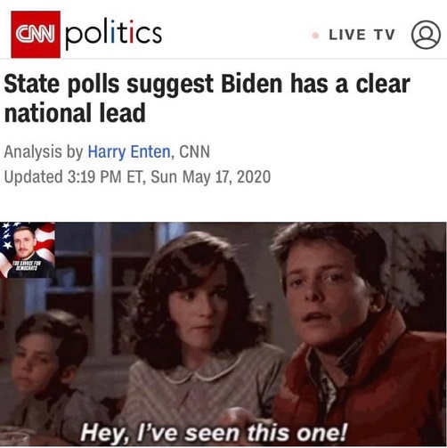 cnn politics state polls suggest biden clear national lead back to future hey ive seen this one