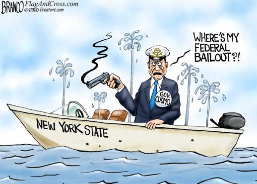 governor andrew cuomo shooting hole in ny boat where is my bailout