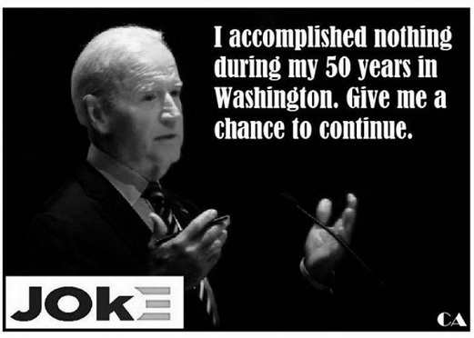 joe biden i accomplished nothing 50 years in washington dc give me a chance to do more