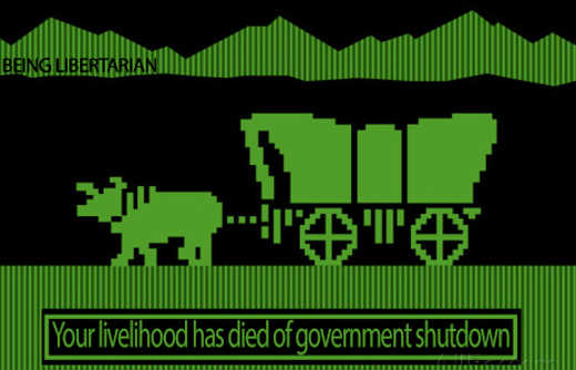 oregon trail your livelihood died of government shutdown