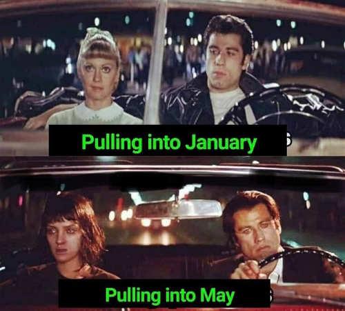 pulling into january may john travolta sandy uma thurman