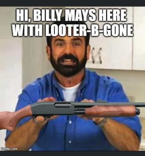 billy mays looter b gone shotgun