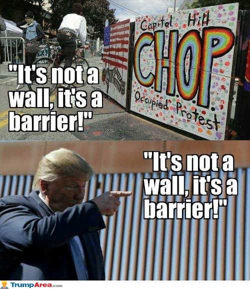 chop capitol hill occupied protest not wall barrier trump