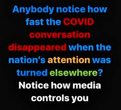 notice how covid disappeared media controls you