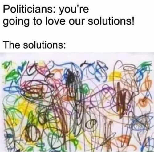 politicians youre going to love our solutions crayon