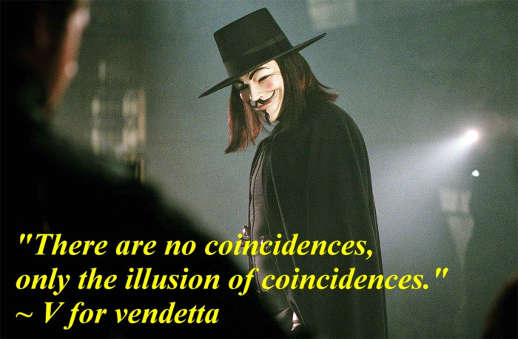 quote v vendetta no coincidences only illusion of them
