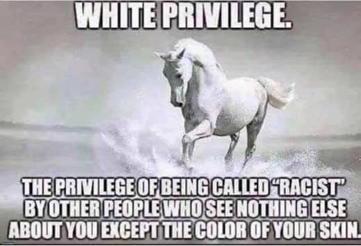white privilege being called racist by people who see nothing except color of your skin