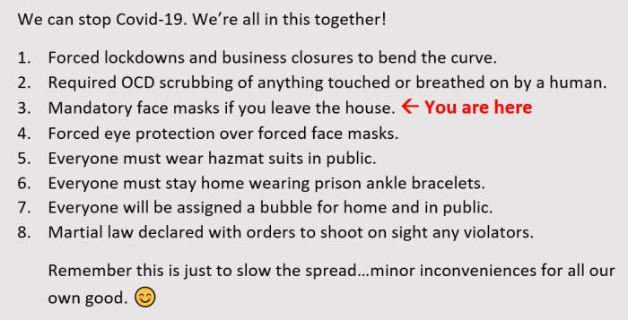 covid 19 steps to slow the spread lockdowns business closures facemasks eye protection