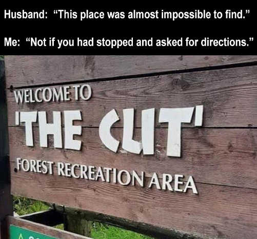 husband place almost impossible to find the clit forest rec directions