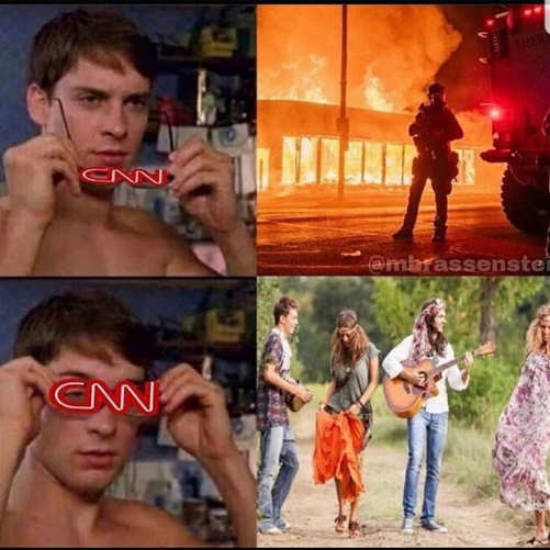 cnn glasses see burning buildings riots hippies peace