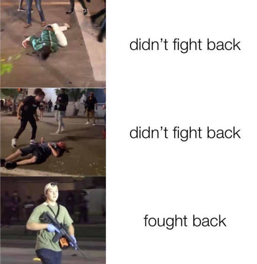 didnt fight back antifa beaten rittenhouse fought back