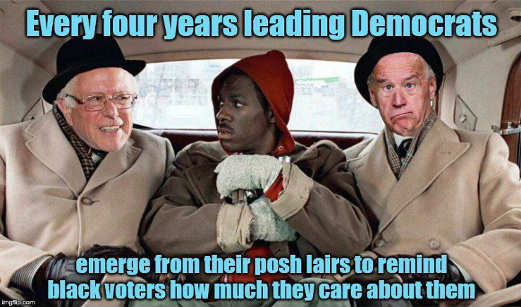 joe biden barack obama every 4 years democras emerge from lairs tell blacks how much they care