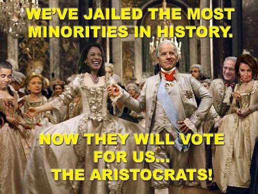 joe biden kamala harris weve jailed most minorities in history they will vote for us aristocrats