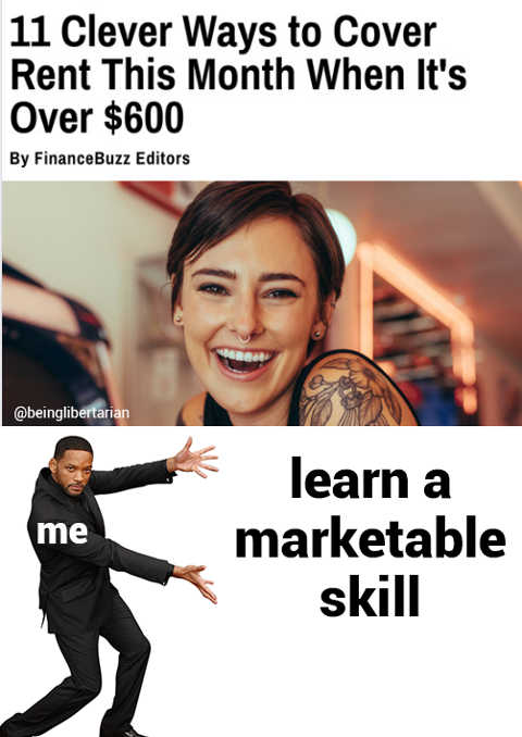 11 clever ways cover rent me learn a marketable skill